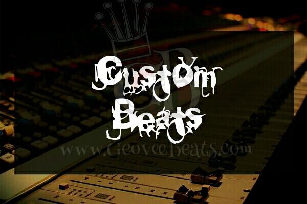 Custom Beats GeoveeBeats custom services flyer