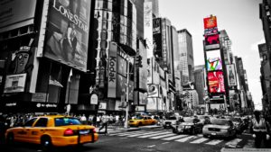 Geovee Beats yellow cab in n.y.c new york city times square services
