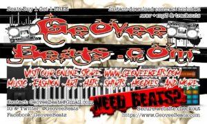 business card GeoveeBeats copy back
