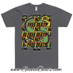 no free beats multi artwork t-shit